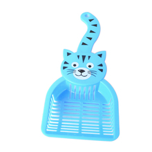 Lovely Plastic Litter Scoop Pet Cat Sand Waste Scooper Shovel Cleaning Tool(China)