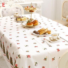 150x180cm Christmas Rectangular Tablecloth Restaurant Kitchen Home Decoration(China)