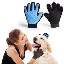 High Quality Pet Bath Mitts Brush Comb Cleaner Groom Washing Cleaning Massage Glove for Gentle Efficient Pet Dog Cat Grooming(China)