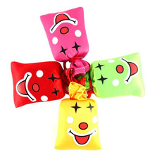 1pc Joke Funny Novelty Toy Bags Ha Ha Laughing Bag Push me I Will Laugh A Lot Gag Gift Prank  Party Favor Halloween Decoration