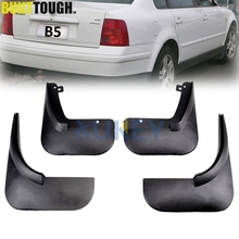 Set Mud Flaps For VW Passat B5 / B5.5 1998-2004 Mudflaps Splash Guards Front Rear Mud Flap Mudguards 2003 2002 2001 2000 1999(China)