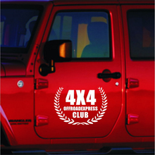 20*30cm Car Stickers 4x4 OFF ROAD EXPRESS 4WD SUV Decal Vehicles Styling For Jeep Patriot Liberty Wrangler Cherok(China)