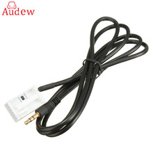 Car 3.5mm Aux In Input Audio Cable Lead Adaptor For Citroen/Peugeot MP3 iPod/iPhone 2004-2007