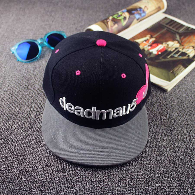 New Summer Cotton Letter DEADMAU5 Baseball Caps Hats For Men Women Bone Embroidery Mickey Snapback Hat Hip Hop Cap Casquette M17
