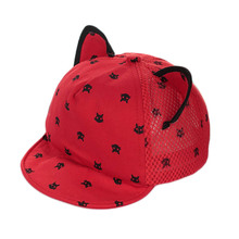 1 Pcs Hot Summer Baby Hat Girls Boys Pentagram Horn Baseball Cap Infant Cotton Unisex Cute Autumn Star Kids Children Hat(China)