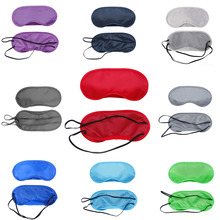 Polyester Sleeping Eye Mask Eye Shade Sleep Mask Color Mask Bandage On Eyes For Sleeping Polyester Shade Sleep Goggles(China)