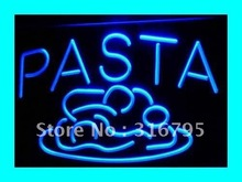 i304 OPEN Pasta Cafe Restaurant Pizza LED Neon Light Sign On/Off Switch 7 Colors 4 Sizes