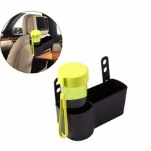Car-Styling Auto Car Drink Cup Holder Seat Back Hanger Food Bottle Stand Auto Seat Wedge Cup Drink Holder Interior Accessories