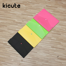 Kicute Waterproof 4 Layers Book A4 Paper File Folder Bag Accordion Style Design Document Rectangle Office Home School Stationery