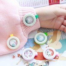 1pcs child mosquito repellent bracelet stickers baby pregnant anti mosquito pest control buttons mosquito killer color random(China)