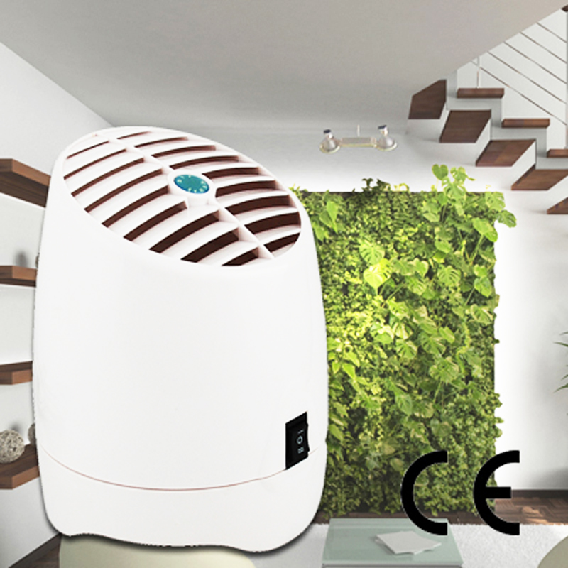 Coronwater Home and Office Air Purifier with Aroma Diffuser, Ozone Generator and Ionizer, GL-2100 CE RoHS(China)