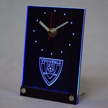 tnc1025 VVV-Venlo Eerste Divisie Netherlands Football 3D LED Table Desk Clock