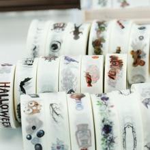 (5 pieces/lot) Halloween Washi Tape DIY Masking Tape Scrapbooking