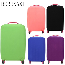 REREKAXI Elastic Luggage Case Cover 18 to 30 inch Trolley Handbag Elastic Dust Cover Travel Accessories(China)