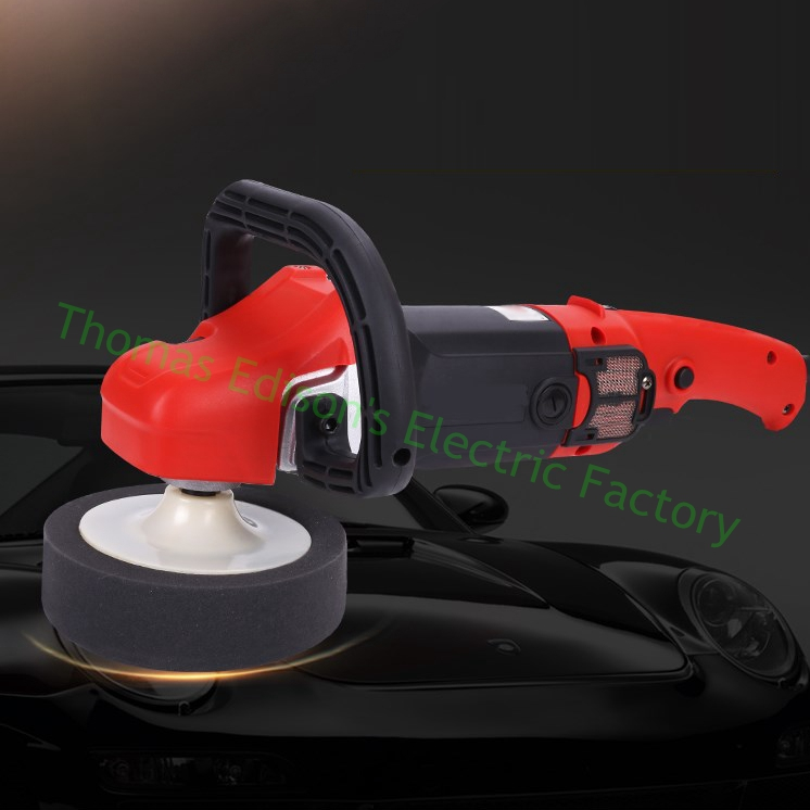 1280w Car waxing machine polisher 220V car beauty glazing sealing machine bench electric floor polishing machine(China)