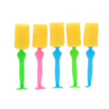 Long Handle Sponge Kitchen Cleaning Tools Cup Brushes for Kids Milk Glass Bottle Porcelain Tea Coffee Stains Cleaner Scrubber
