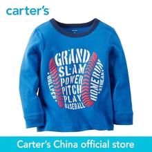 Carter's 1pcs baby children kids Long-Sleeve Baseball Tee 225G675,sold by Carter's China official store