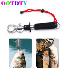 Buy OOTDTY 15kg/33LB Weigh Stainless Steel Fish Lip Grip Grabber Fishing Gripper Weight Scale & Ruler Fishing Tool Tackles for $10.53 in AliExpress store