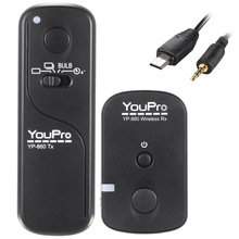 YouPro YP-860 S2 2.4G Wireless Remote Control Shutter Release Transmitter Receiver for Sony A58 A7R A7 A7II A6000 DSLR Cameras