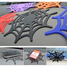 Accessories Car Non Slip Mat Silicone Grip Pad Sticky Spider Web Anti Skid Dash Sheet Cell Phone Holder Key Sunglasses Clip
