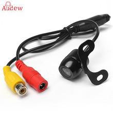 12V 170 Mini Color CCD Reverse Backup Car Rear View Camera Waterproof Night Vision Front/Side View Camera(China)