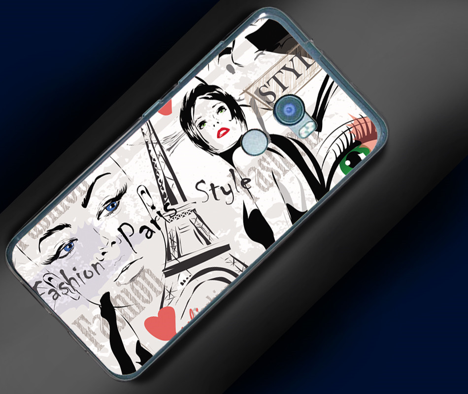 "Soft TPU For Coque HTC One X10 Case Cover Cute Cartoon UV Printing Phone Cases For HTC One X10 E66 Funda Capa For HTC X10 5.5"" 4"