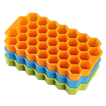 1pcs Silicone Honeycomb Modeling Cake Chocolate Mold Ice Cube Tray Ice Cream Maker Mold Kitchen DIY Baking Dessert Tools(China)