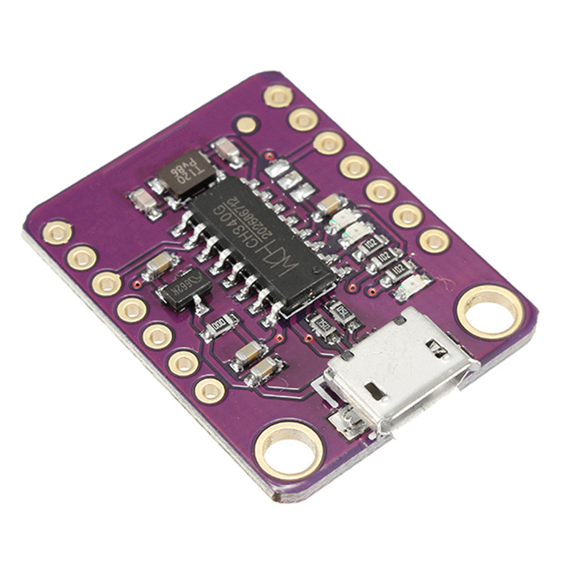 1PC New Electric Unit CH340G TTL To USB STC Downloader Serial Communication Module(China)
