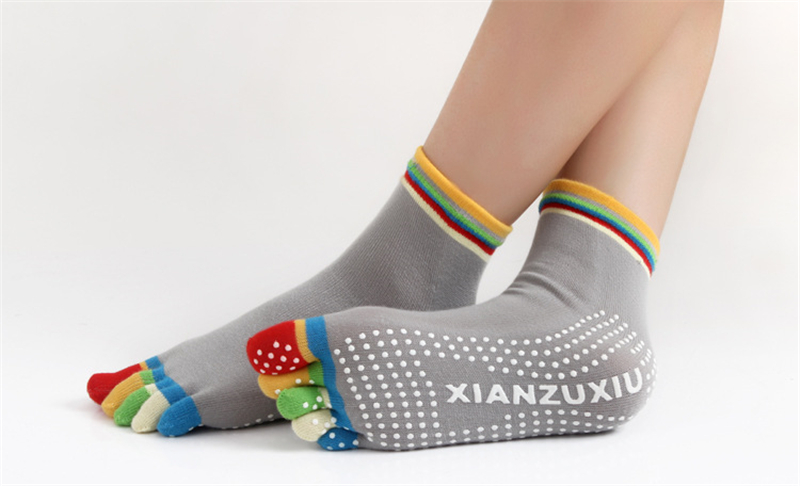 17 Colorful Socks Women Dance For Girls Short Socks With Silicone Peds Liners Tube Socks 25