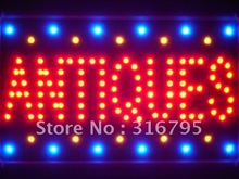 led105-r Antiques Shop Led Neon Sign WhiteBoard Wholesale Dropshipping