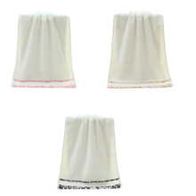 1Pcs! High Quality 34*75cm Soft Pure Cotton Wedding Gifts Face Hand Hair Bathroom Bath Towel Beach Towel Home Use House Cleaning