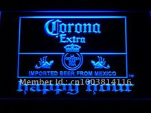 611 Corona Extra Beer Happy Hour Bar LED Neon Sign with On/Off Switch 7 Colors 4 Sizes to choose