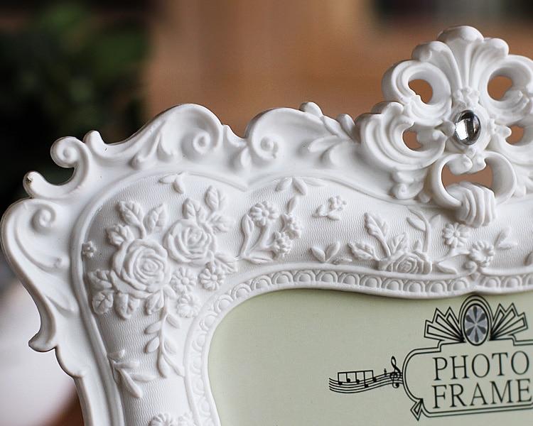 2016 NEW European Home Furnishing white Photo frame 6 inch 7 inch wed_B9_20