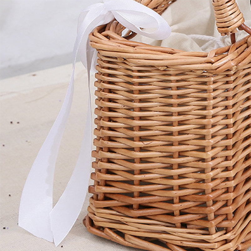 Women Bamboo Beach Bags Summer Female Straw Handbag Bohemian Vintage Rattan Ribbon Holiday Bag Lady Handmade Tote SS3197 (4)