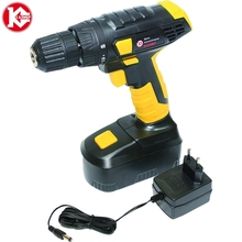 Cordless drill with battery Kalibr DA-12/1+ (12V, 1 Battery Ni-Cd, 1 speed) screw driver, power tools mini drill