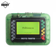 Universal Motorcycle Scanner MOTO 7000TW V8.1 Motorbike Scan Tool with Multi Languages DHL Free Shipping