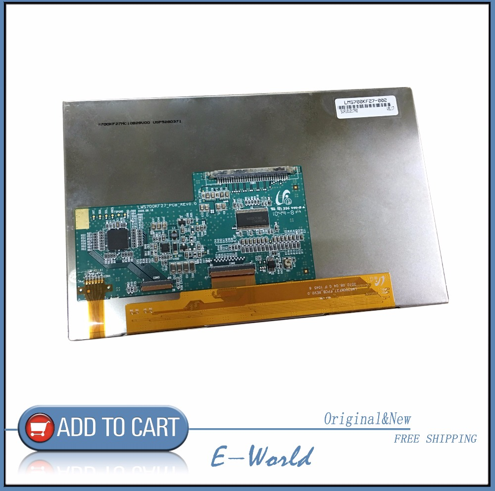 Original 7inch LCD Screen LMS700KF27-002 LMS700KF27 Free Shipping<br>