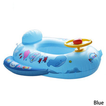 Baby Swimming Accessories Inflatable Pool Ring Child Laps Swim Seat Float Boat Water Sport Two Colors(China)