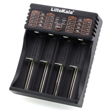 Liitokala Lii-402 Lii-202 100 18650 charger 1.2V 3.7V 3.2V 3.85V AA / AAA 26650 10440 16340 NiMH lithium battery smart charger