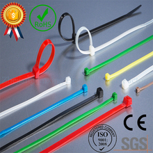 "ZHEJIN (1000pcs) ZJ-3*100mm (4""X14lbs) Nylon Plastic Zip Trim Wrap Cable Loop Ties Wire(width:1.9mm)(China)"