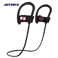 Buy AIYIMA Wireless Bluetooth Headphones Sports Waterproof Earphone Headset Auriculares Inalambrico Bluetooth Running Fone De Ouvido for $14.30 in AliExpress store