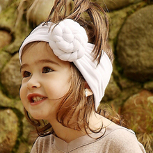 Baby Girl Infant Simple Elastic Stretchy Hairband Twisted Knotting Cute Headband