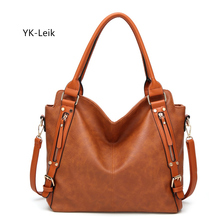 YK-Leik European and American women handbag large capacity Casual tote bag luxury handbags women bags designer Shoulder Bags