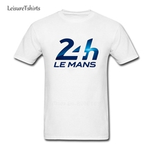 Logo 24h Le Mans T Shirt Male Newest Personality Tee Shirt Leisure T-Shirt 24h Le Mans Men Short Sleeve Picture Dad Clothing(China)