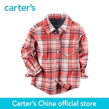 Carter's 1pcs baby children kids Plaid Button-Front Shirt 243G873,sold by Carter's China official store