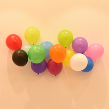 10pcs/lot 1.5g Round Latex Balloon Inflatable Helium Colorful Balls Wedding Happy Birthday Party Romantic Decoration For Home