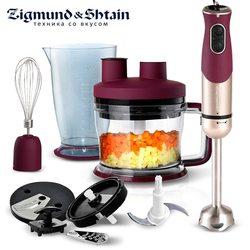 Zigmund & Shtain BH-339M блендер Ручной Кухонный 900 Вт 1750 мл миксер, Кухонный комбайн домашнего использования 6 режимов турбо низкий уровень шума
