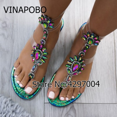 sandalki-japonki-transparentne-zielono-niebieskie-lara