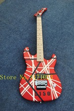 bad dog Hot Selling Red Kramer EVH Electric Guitar China OEM 5150 Guitars Body & Kits Custom Available Free Shipping