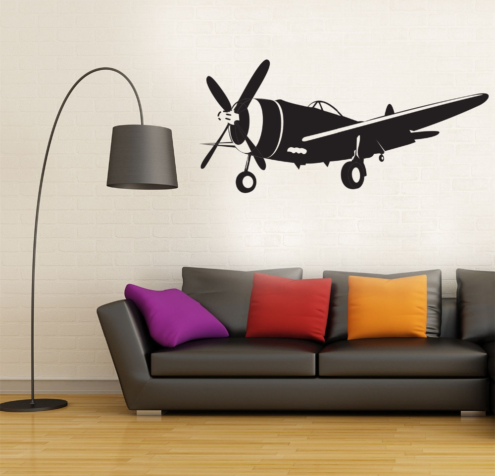 Removable-Airplane-Wall-Decal-plane-Vintage-Sky-Wall-Decal-Modern-Home-Decor-Sticker-Art-Living-Room (3)